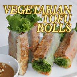 Photo Of Vietnamese Sandwich House And Pho Tukwila Wa United States Vegetarian Vegetarian Tofu Rolls 4 95
