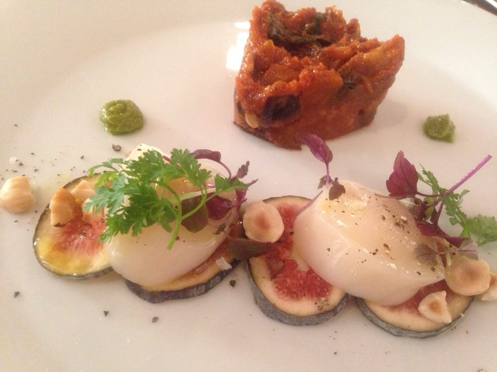 Raw scallop caponata yelp - La finestra biz ...