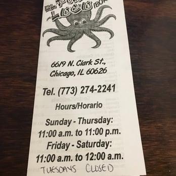 El Pulpo Loco Restaurant Chicago Il