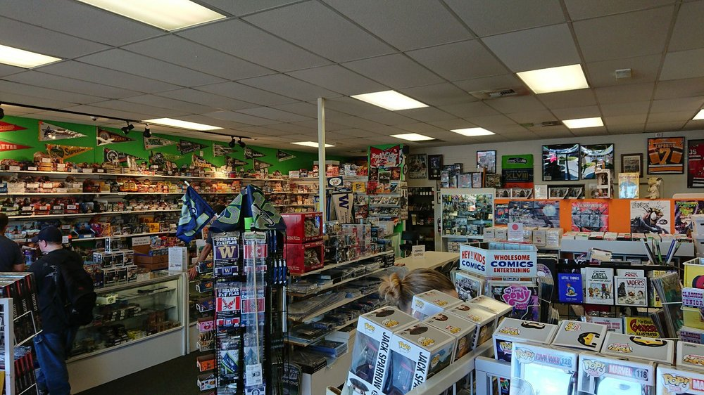 World of Collections Games Comics & Cards: 22611 76th Ave W, Edmonds, WA