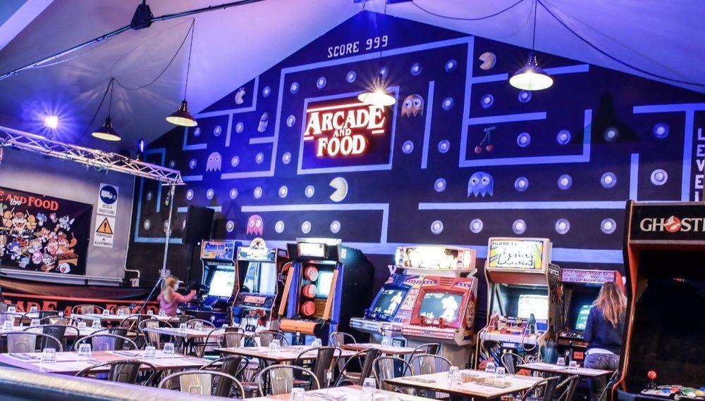 Arcade And Food