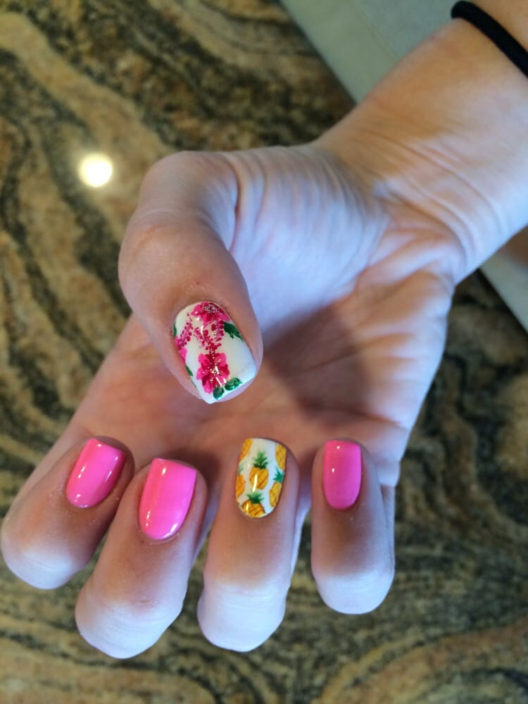 My Did These Awesome Hawaii Nail Designs For Me By Hand Yelp