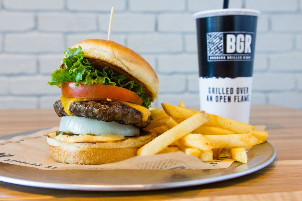 BGR The Burger Joint: 12100 Sunset Hills Rd, Reston, VA