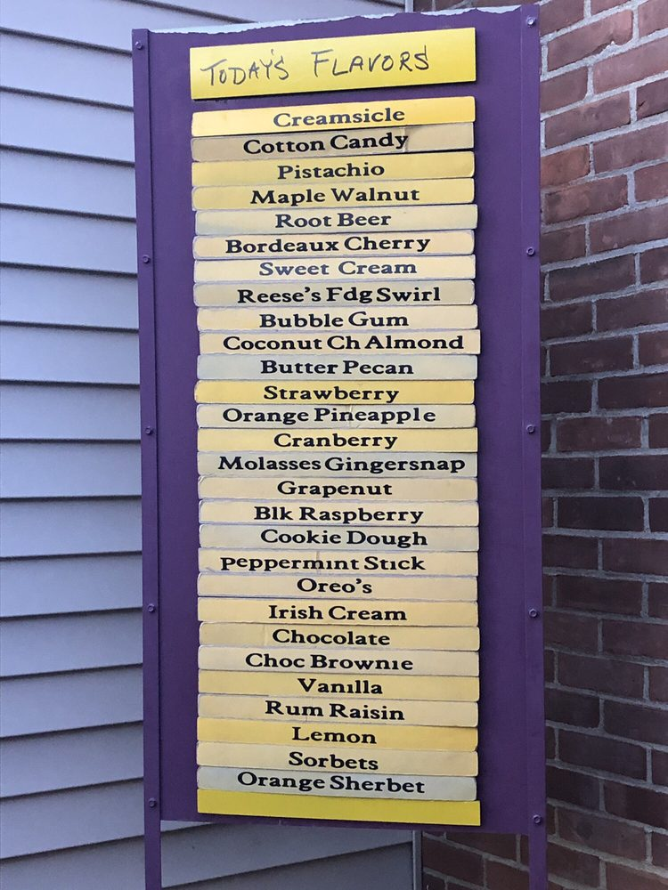 Ice Cream Machine: 213 Main St, Charlestown, NH