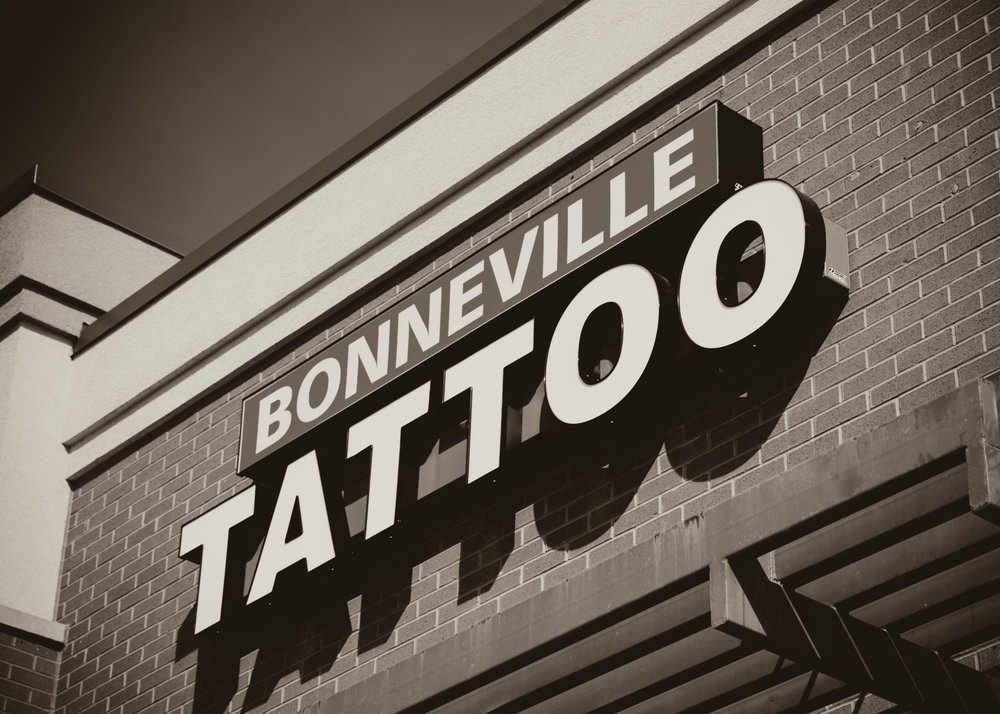 Bonneville Tattoo: 3642 W 9800th S, South Jordan, UT