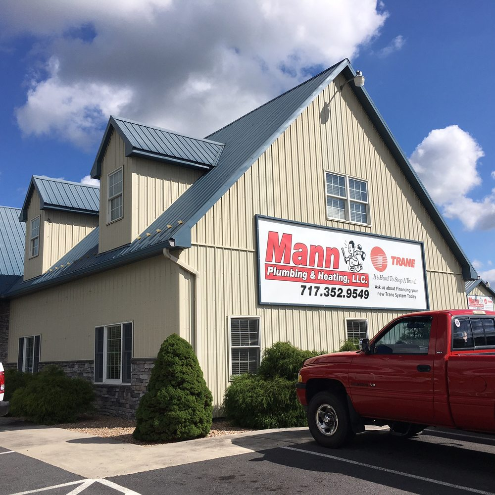 Mann Plumbing And Heating: 6210 Lincoln Way E, Fayetteville, PA