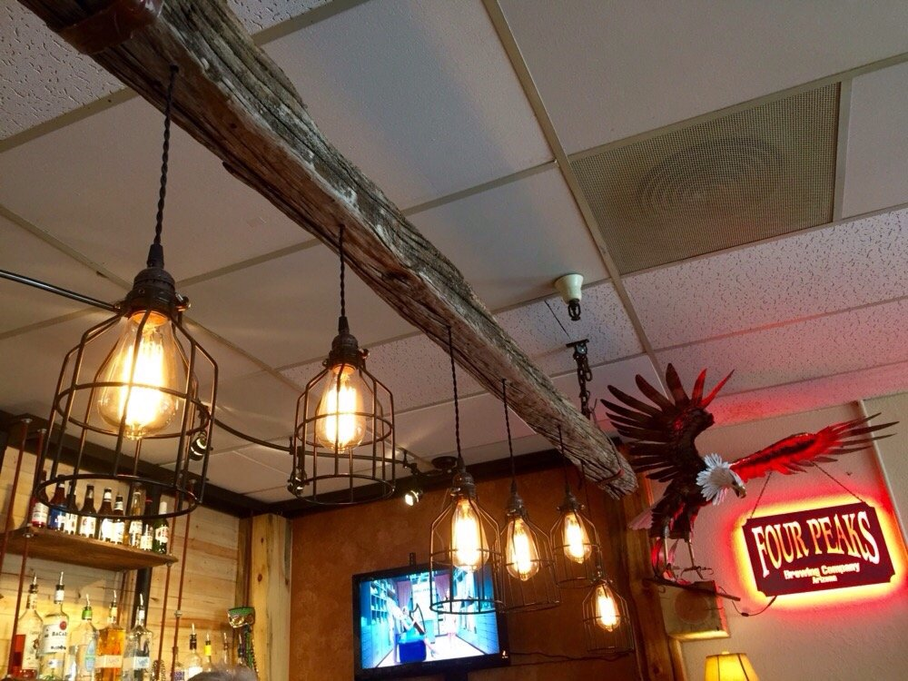 handmade lighting fixtures. Photo Of Arizona BBQ Shack - Scottsdale, AZ, United States. Handmade Lighting Fixtures L