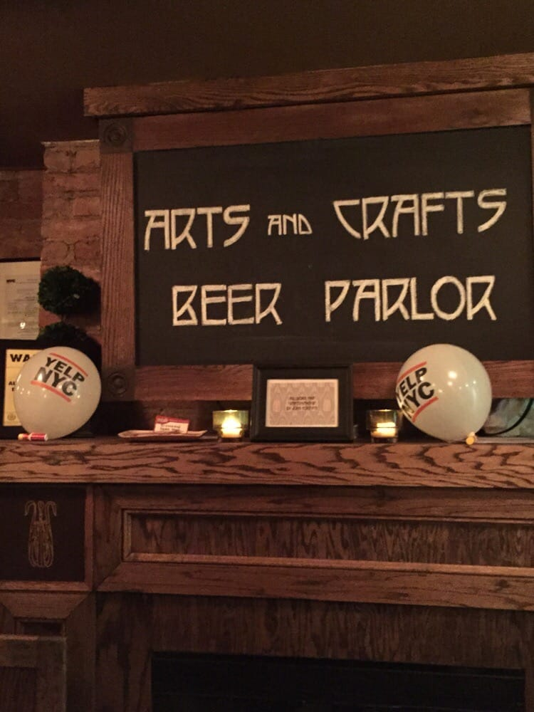 Arts And Crafts Beer Parlor Yelp