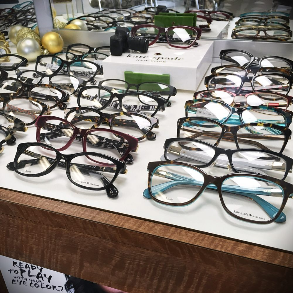 c9f1f7fc914 Our Kate Spade frames are colorful and classy - Yelp