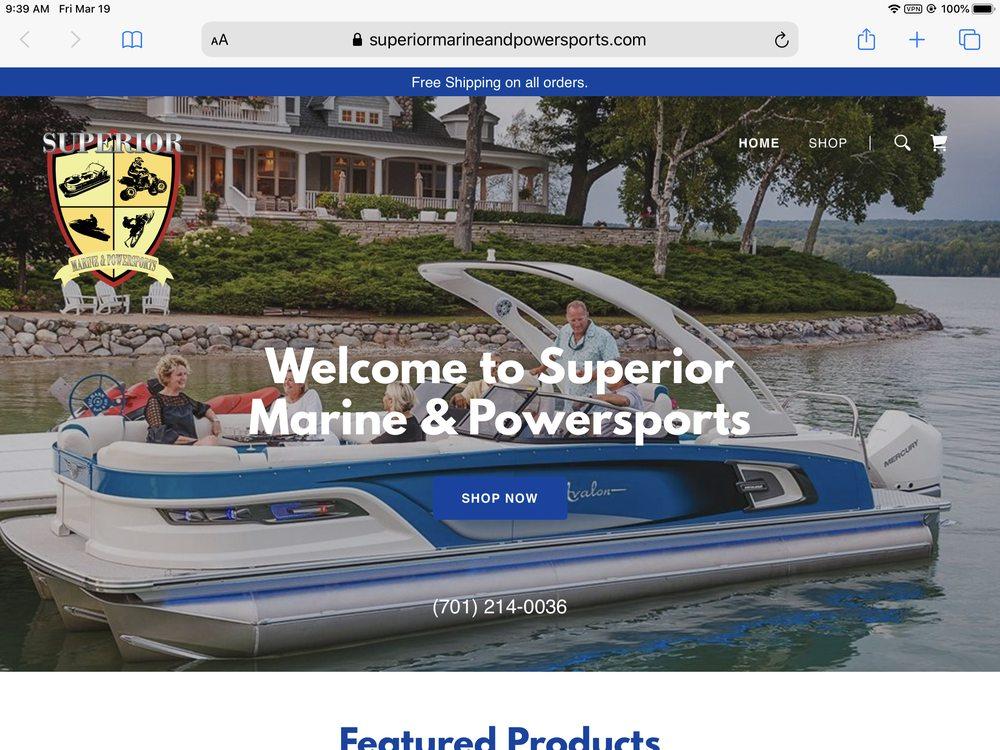 Superior Marine and Powersports: 5718 Rock Haven Harbor Rd N, Mandan, ND