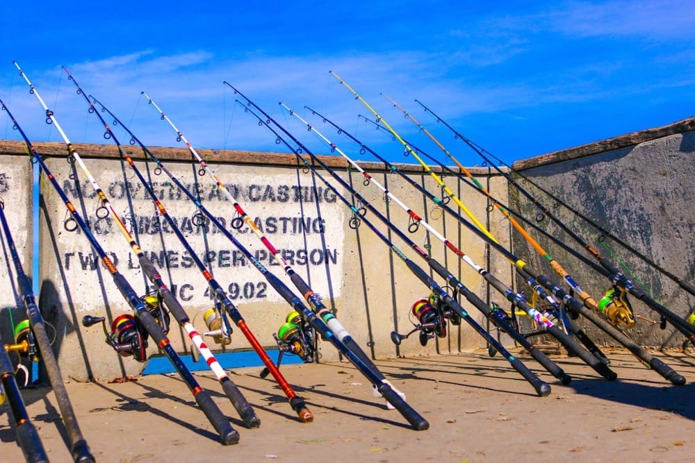 You can never have enough fishing poles yelp for Pacifica pier fishing report