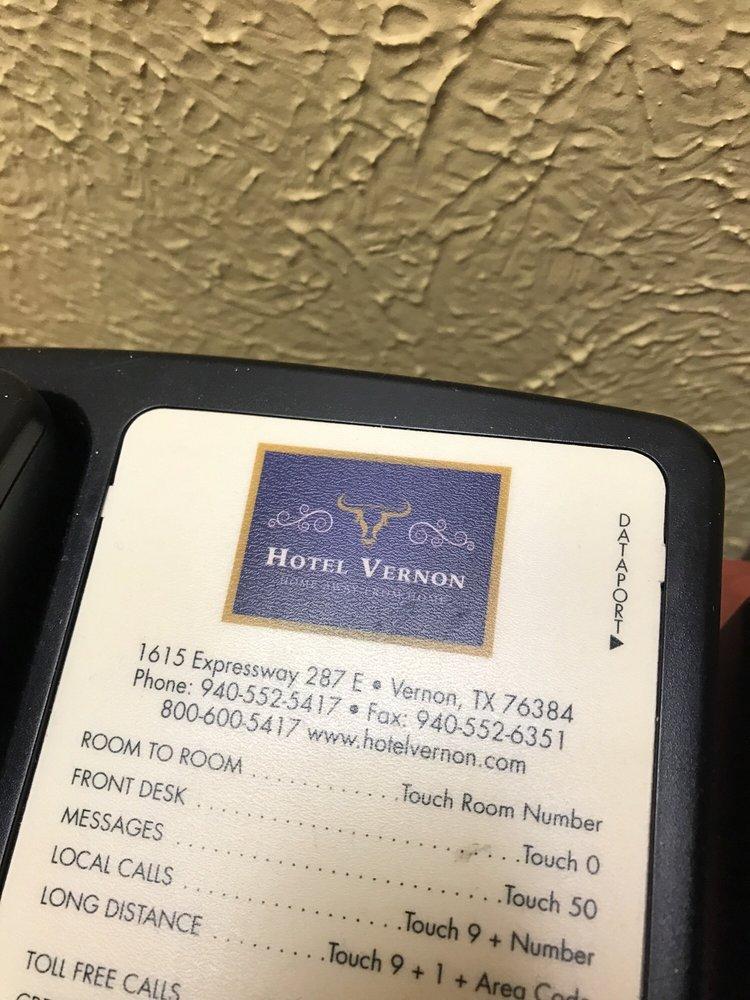 Hotel Vernon: 1615 Expy 287 E, Vernon, TX