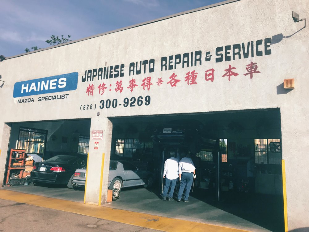 Haines Mazda Specialist - 2233 W Valley Blvd, Alhambra, CA