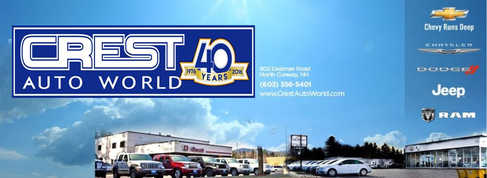 Crest Auto World Service: 802 Eastman Rd, North Conway, NH
