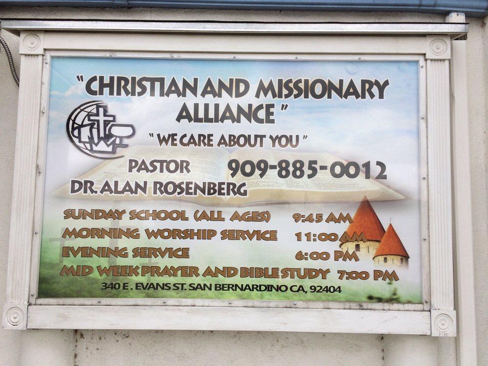 Christian Missionary Alliance Church Of San Bernardino Churches
