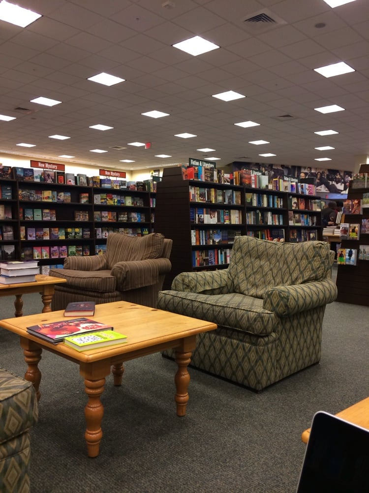 A few of the couches that are spread across the store i could sleep in these things yelp for Barnes and noble winter garden