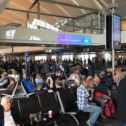 'Photo of Los Angeles International Airport - LAX - Los Angeles, CA, United States. Gate to board the airplane' from the web at 'https://s3-media1.fl.yelpcdn.com/bphoto/jvYM3jMR8FCaFU0CBQM7WQ/ls.jpg'