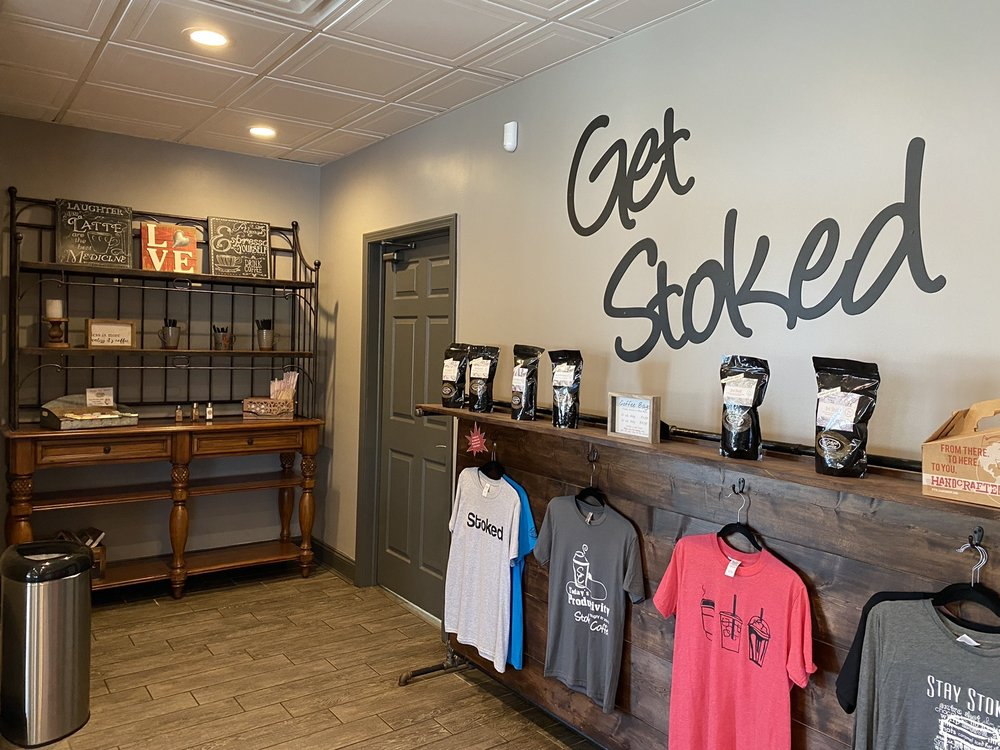 Stoked Coffee: 1606 Blizzard Dr, Parkersburg, WV
