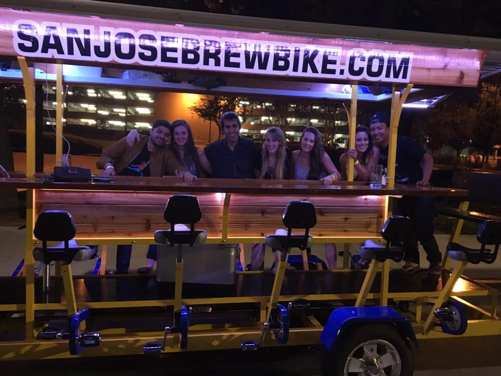San Jose Brew Bike