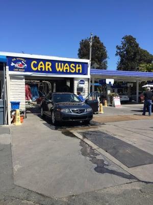 Mr Sparkle Car Wash Map
