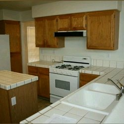 Photo of Kitchen Handyman - Las Vegas, NV, United States. Before cabinet refinishing