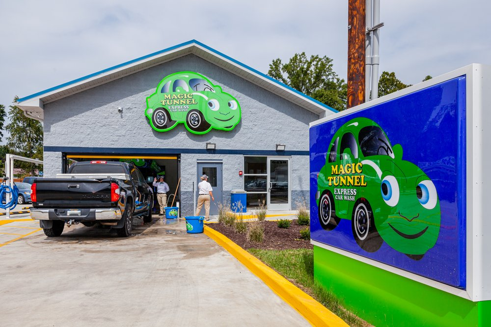Magic Tunnel Express Car Wash - Barboursville: 6442 Route 60, Barboursville, WV