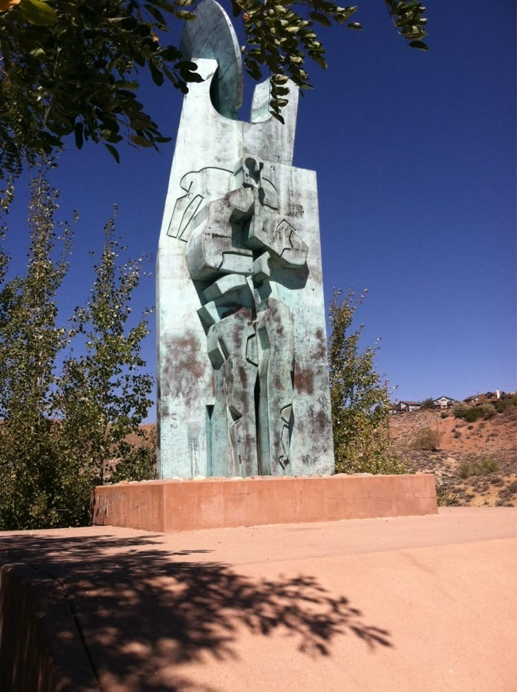 The National Monument of the Basque Sheepherder Euskal Artzaiari - Reno, NV, United States