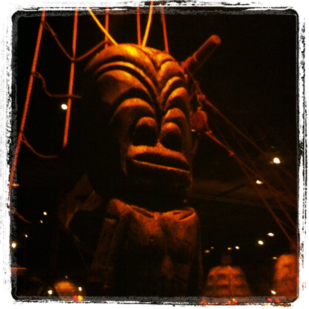 Tiki Idol In Entryway Yelp