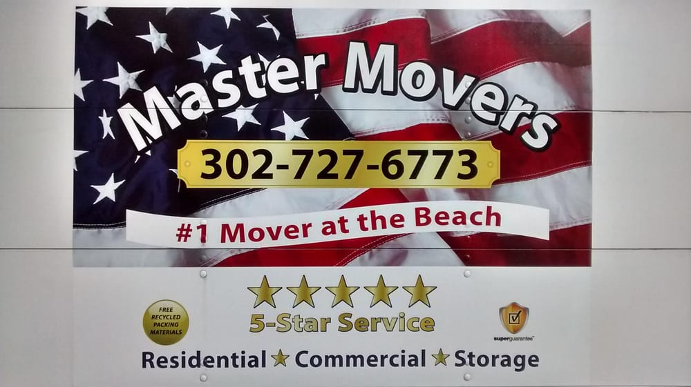 Master Movers #1 Mover at the Beach