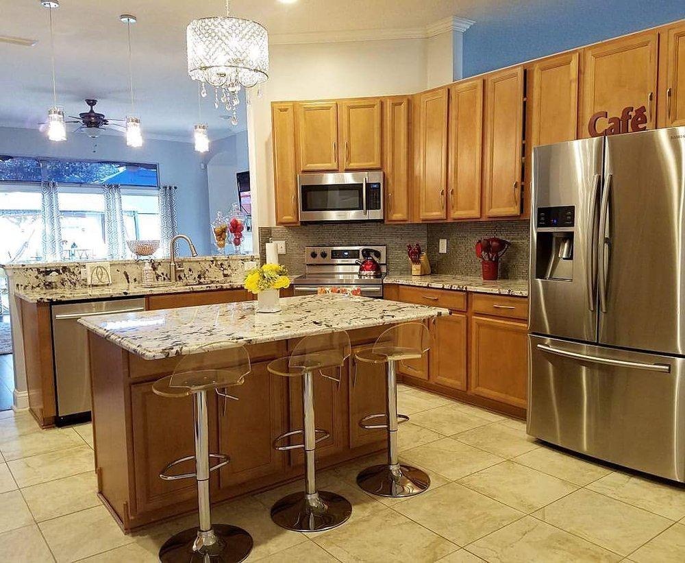 Art Of Granite Countertops 49 Photos Roofing General Electrical Countertop Installation Southside Jacksonville Fl Reviews Phone Number