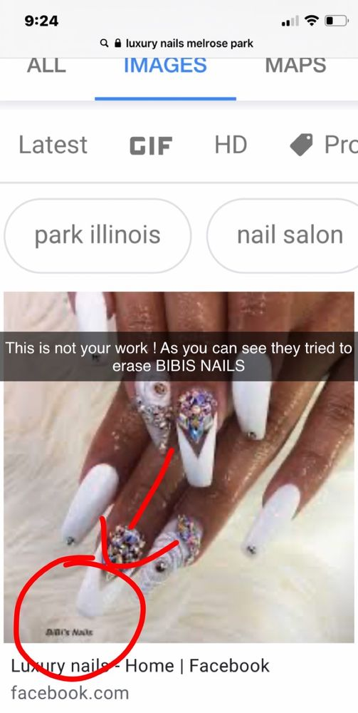 Luxury Nails: 102 1/2 N 19th Ave, Melrose Park, IL