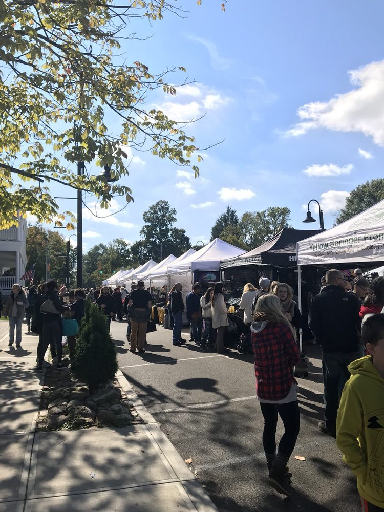Social Spots from Yellow Springs Street Fair