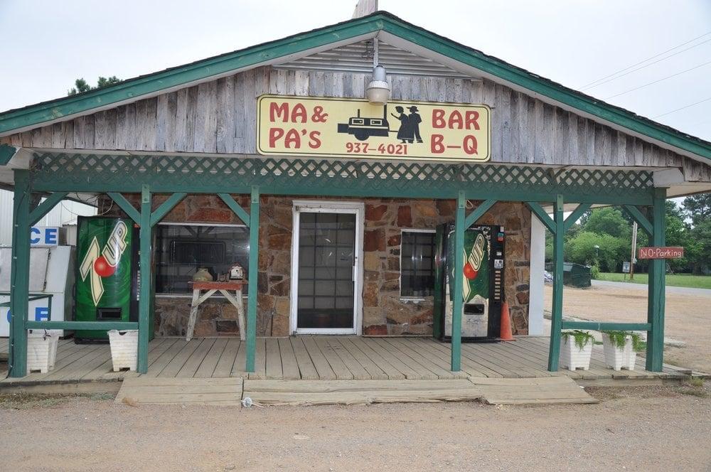 MA & Pa's Bar-B-Q: Coleman, OK