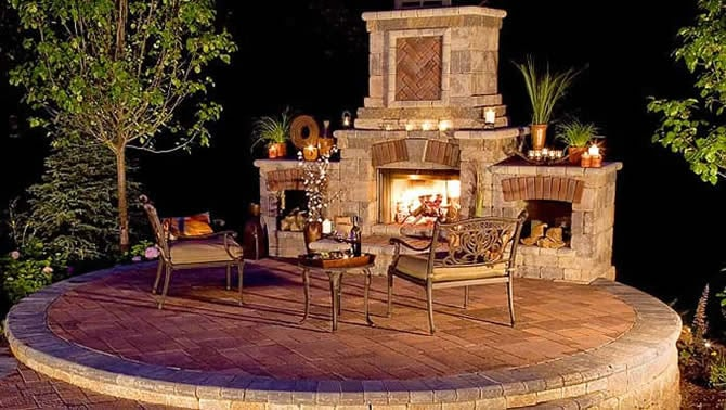 Wood Boxs. https://www.outdoorstoneg­allery.com/fire-pit---fireplace-kits.html - Yelp