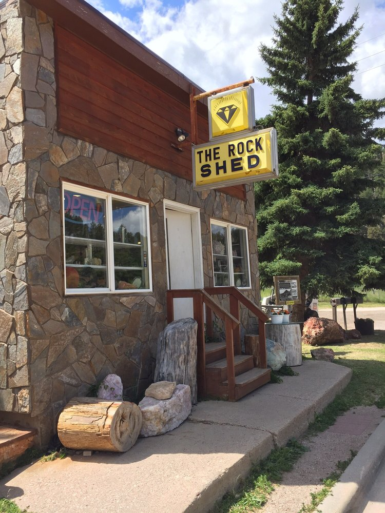 The Rock Shed: 515 1st St, Keystone, SD