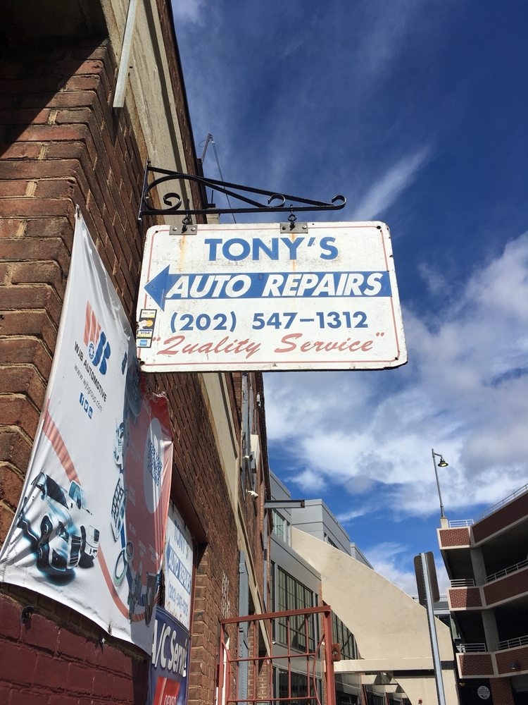 Tony's Auto Repair: 1116 Congress St NE, Washington, DC, DC