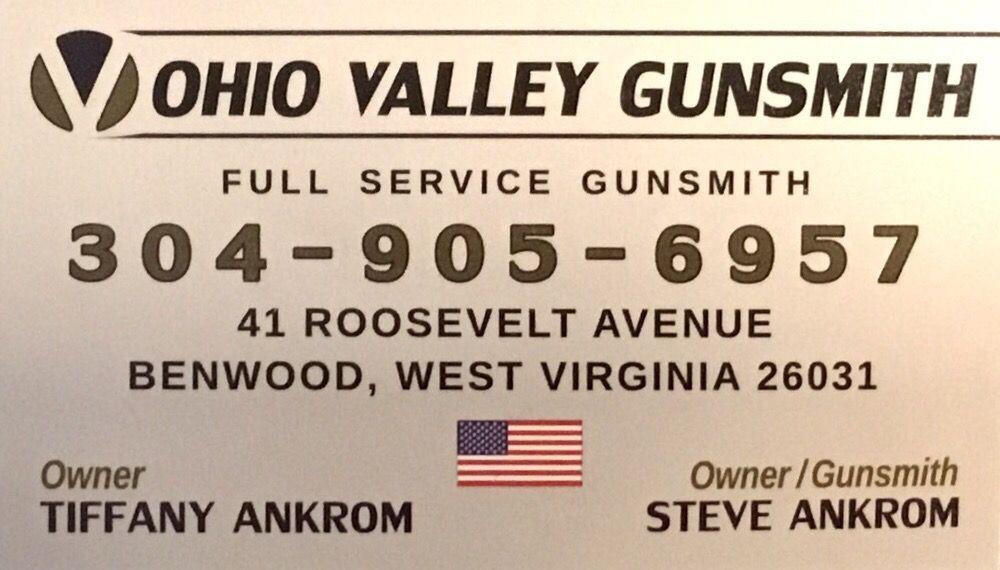 Ohio Valley Gunsmith: 41 Roosevelt Ave, Benwood, WV