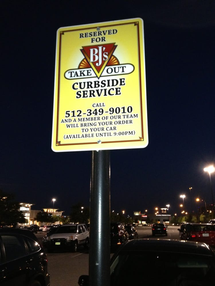 Photo Of Bj S Restaurant Brewhouse Austin Tx United States Curbside Pickup