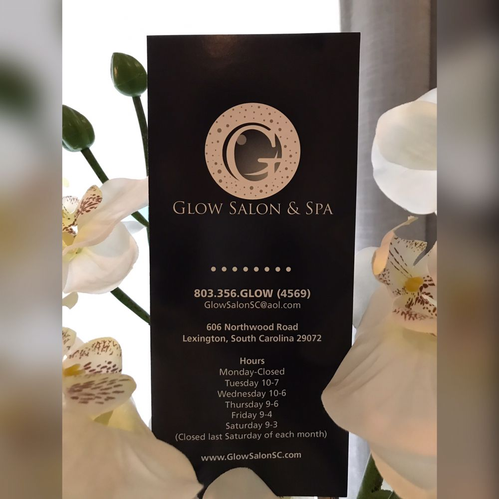 Glow Salon and Spa: 606 Northwood Rd, Lexington, SC