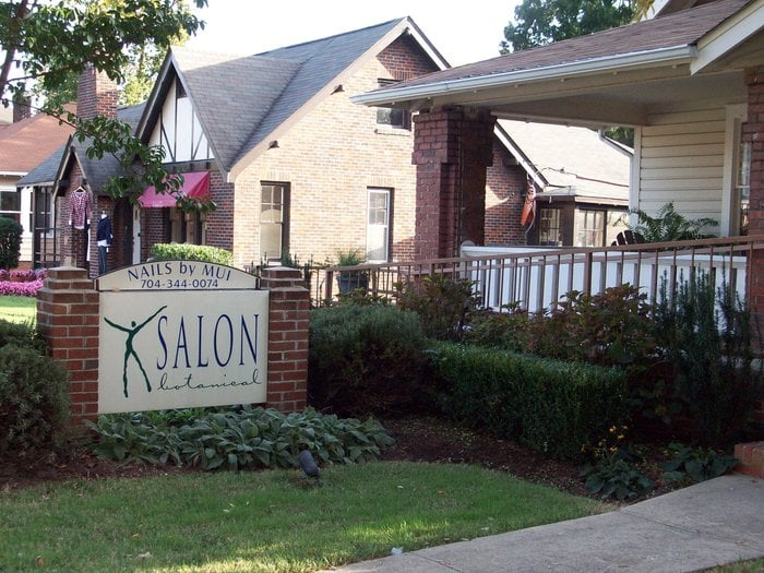 Salon botanical hair salons 1226 east blvd dilworth for 8 the salon charlotte nc