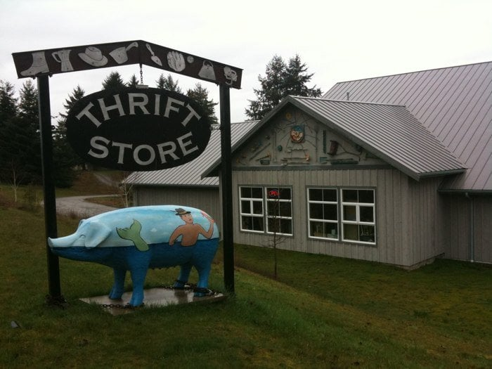 Whidbey island thrift stores