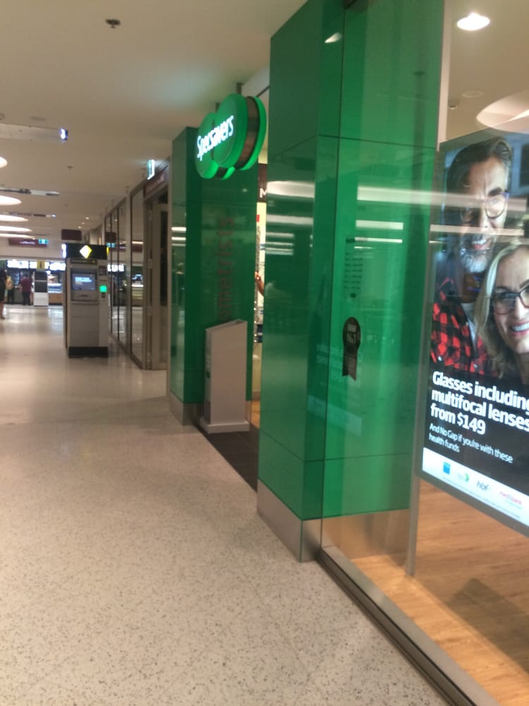 Specsavers optometrists shop 111 level 1 trinity for 111 st georges terrace perth