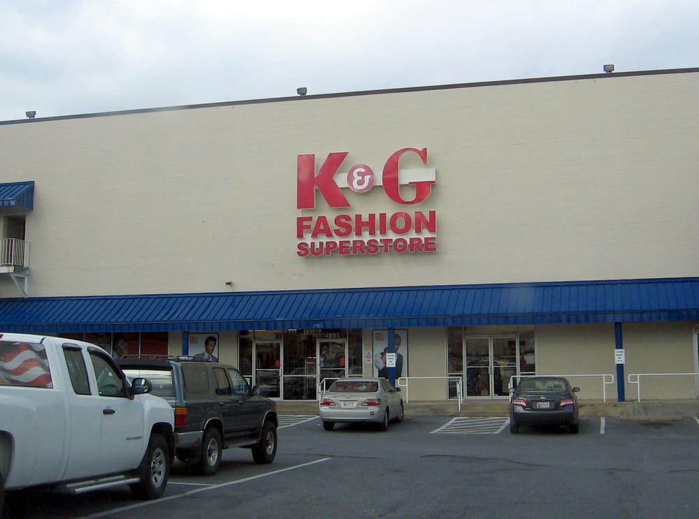K g clothing store website