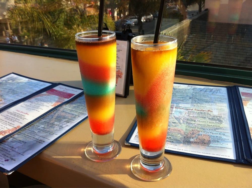 Photo Of Aloha Grill Huntington Beach Ca United States Rainbow Drinks With