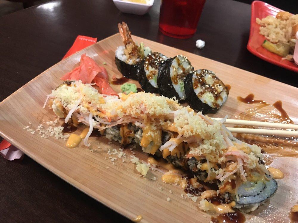 Food from Shogun Sushi And Hibachi