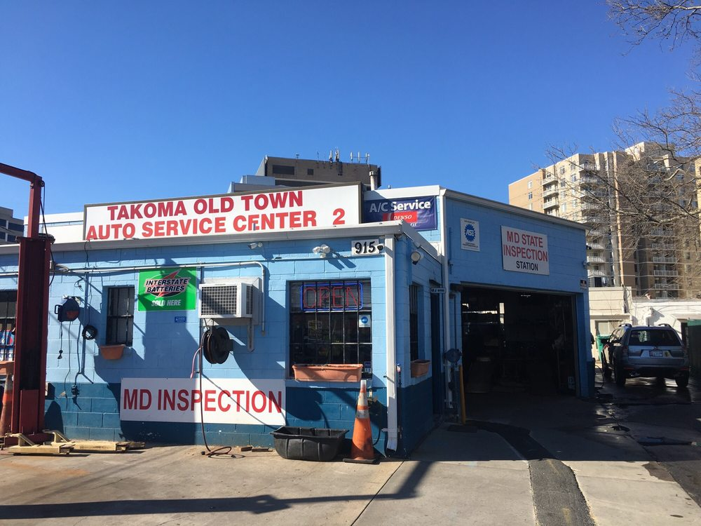 Takoma old town auto service 23 reviews garages 915 for Garage md auto