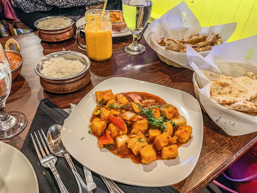 Food from Indian Clay Oven Bar And Grill