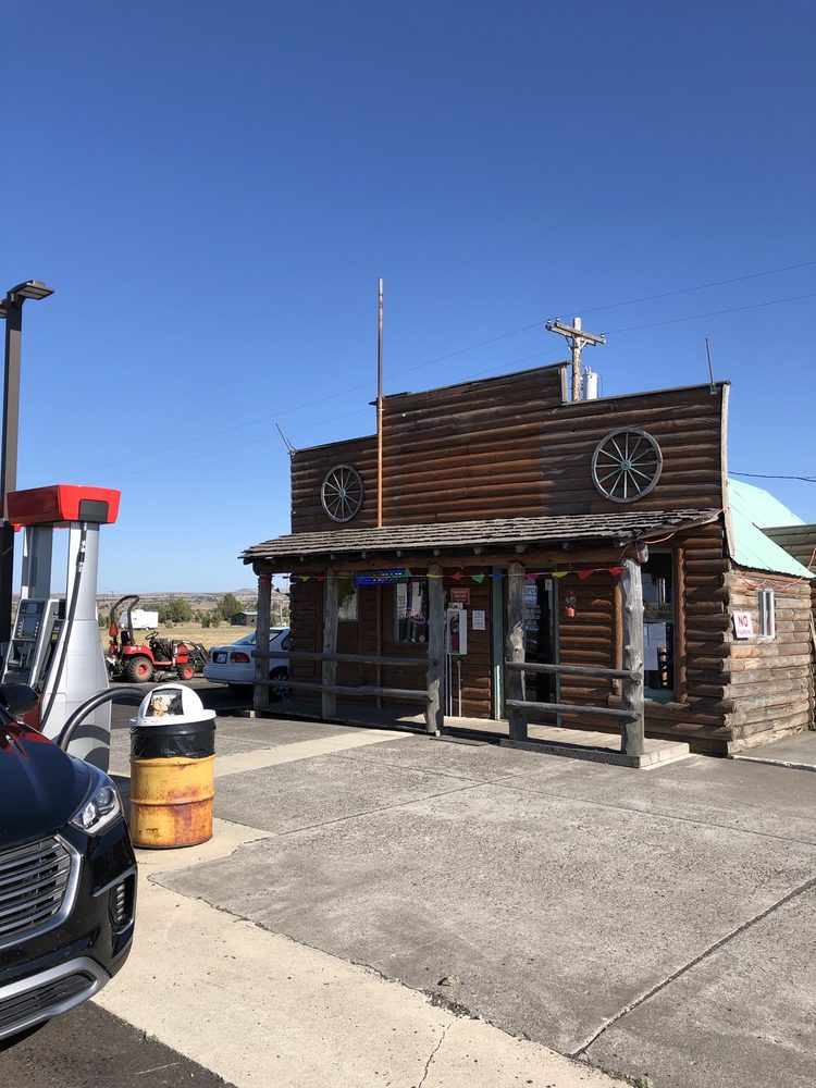 The Outpost, Shaniko Gas Station: 93458 4th St, Shaniko, OR