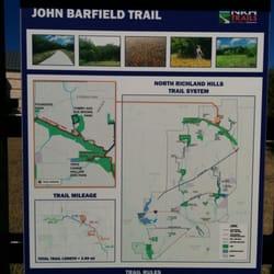John Barnfield Trail Hiking 8201 Davis Blvd North Richland