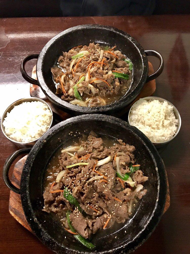 Food from Korean Garden